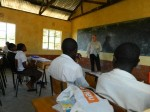 Ken Teaching at Kwa Muema Secondary School, Mulundi, Kitui, Kenya.