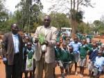 Mulundi Primary-Planting trees.