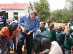 Mulundi Primary-planting trees