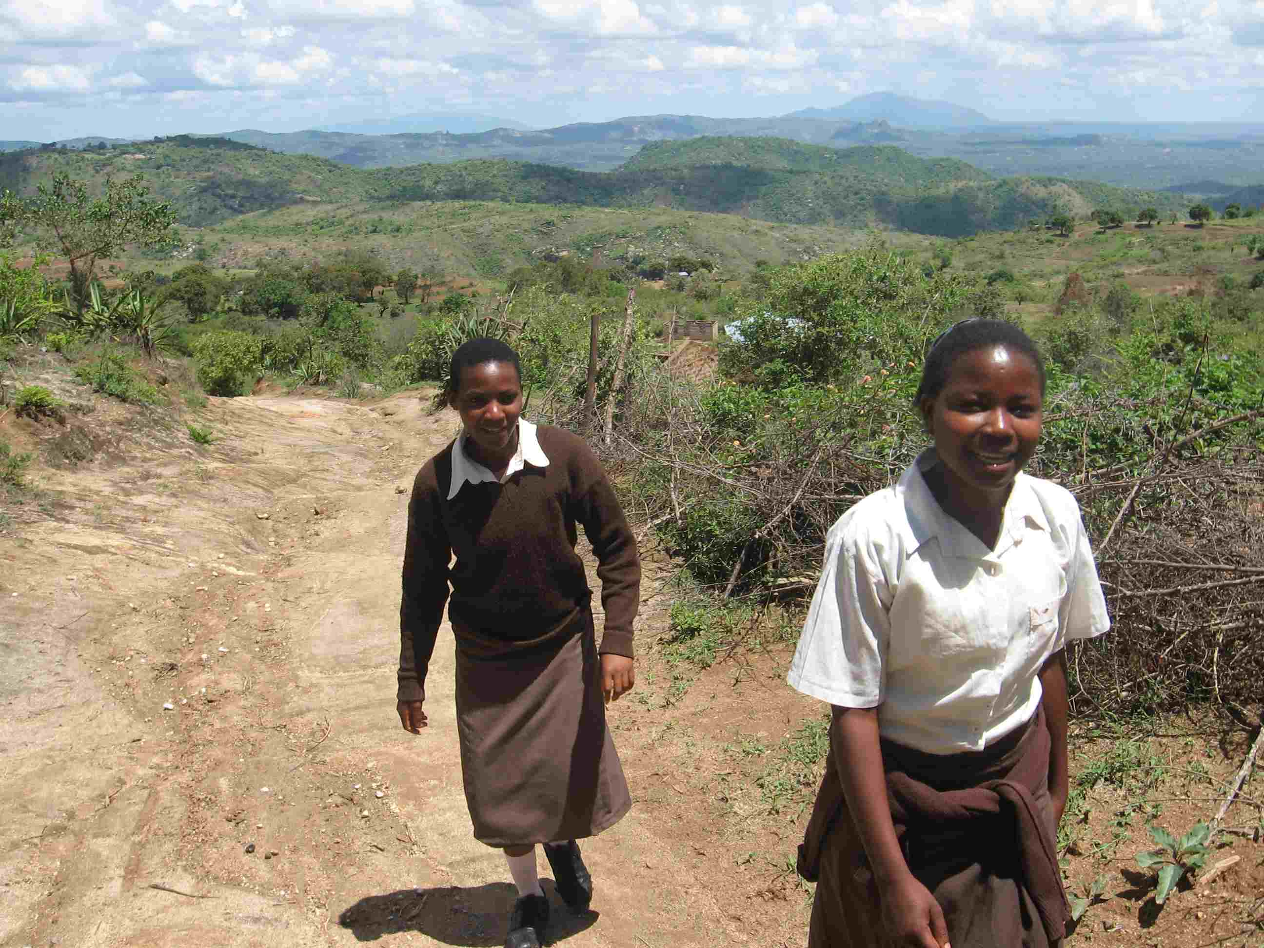 Kwa Muema Secondary School Students in Mulundi, Kenya