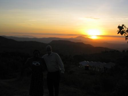 Sun rise at Kwa Muema Secondary School, Mulundi, Kitui, Kenya